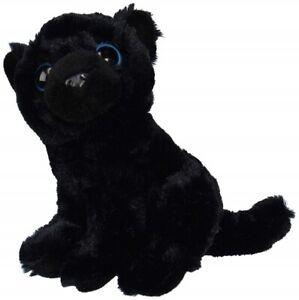 Fiesta Toy Black Panther 9'' Big Eye Fuzzy Sitting My Plush Pet Pillow Wild Cat