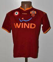 AS ROMA ITALY 2007/2008 HOME FOOTBALL SHIRT JERSEY KAPPA SIZE XL ADULT