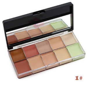 10 Colour Camouflage Concealer Palette Face Cosmetic Kiss Beauty Makeup Cream #1