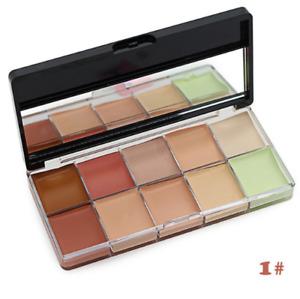 10 Colour Camouflage Concealer Palette Face Cosmetic Kiss Beauty Makeup Cream #1