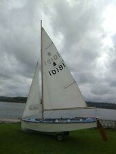 GP14 sailing dinghy Classic family boat with additional sails, spares & trailers