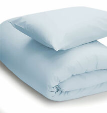 200 Thread Count Single Housewife Pillow Case in Duck Egg Blue 51cm X 76cm