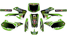 5125 KAWASAKI KX 125 250 1999-2002 99-02 DECALS STICKERS GRAPHICS KIT