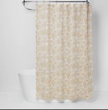 Floral Shower Curtain Yellow - Threshold NWOT