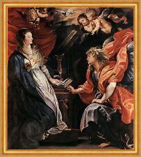 Mariä Verkündigung Peter Paul Rubens Sankt Engel Jungfrau Maria LW H A1 0479