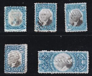 US STAMP BOB REVENUE STAMPS COLLECTION LOT #5