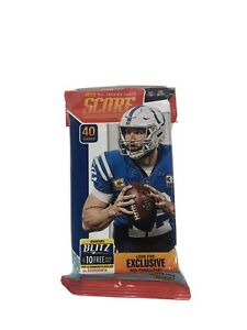 2019 SCORE NFL Football (1) Unopened Fat Pack 40 Trading Cards Rookies RC📈🔥