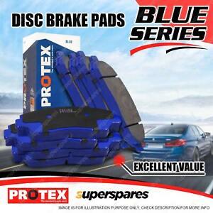 8Pcs Front + Rear Protex Disc Brake Pads for Mitsubishi Pajero NM NP 00-06
