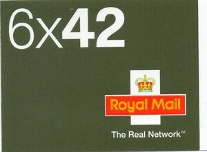2003 6 x 42 The real network booklet sg NA2 cat £30