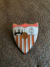SEVILLA Spanish Football Club Enamel Pin Badge Butterfly Clasp Logo Crest