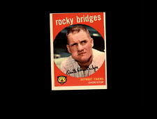 1959 Topps 318 Rocky Bridges VG #D608583