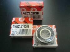 2 pcs. FAG à billes 6202 2rsr-roulement à billes 6202 2rs/c-2hrs 15x35x11mm