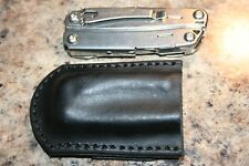Leather Knife Sheath for a Leatherman Wingman - Friction Fit Concealed Scout