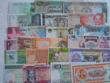 40 ALL DIFFERENT COUNTRIES / 40 ALL DIFFERENT NOTES , inc. many RARE n EXPENSIVE