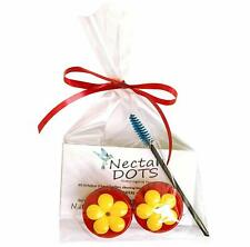 Nectar Dots Hummingbird Feeder Kit with Instructions and Cleaning Brush!