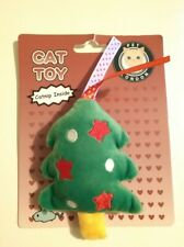 CATNIP CAT TOY - CHRISTMAS TREE SOFT TOY (New)