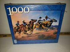 Fx Schmid 1000 Piece Jigsaw Puzzle. Cowboys Horses