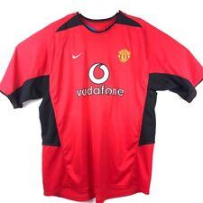 Manchester United F C David Beckham 7 Nike Dri-Fit Mens Jersey Red Black XXL