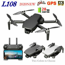 L108 GPS Quadcopter 5G WiFi FPV 4K HD Brushless Helicopter RC Drone