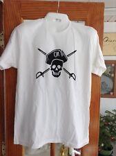 Captain Morgan Caribbean White Rum White Tee Shirt Extra Large