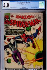 Amazing Spider-Man #36 CGC 5.0 OW  Origin & 1st app of The Looter