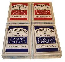 4 Jeux de Cartes Poker Authentique Sans Marque Casino