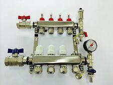 4 port underfloor heating manifold, Brand New