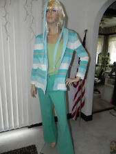 Vintage Pants outfit; 2 pants. 1 Jacket / sweater. nice outfit blue/white