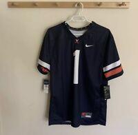 NWT Nike University Of Virginia Cavaliers Dri Fit Jersey Men's Size Medium #1