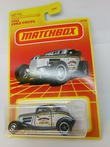 Matchbox 1933 Ford Coupe 8/12 2020 Retro Series Exclusive - New
