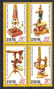 DDR 1980 Mi. Nr. 2534-2537 ZD Viererblock Postfrisch ** MNH