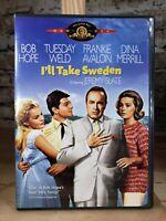 I'll Take Sweden DVD Frederick de Cordova(DIR) 1965
