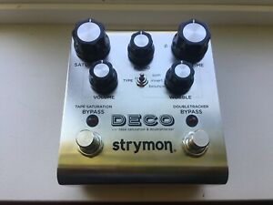 Strymon Deco Tape Saturation and Doubletracker - Silver