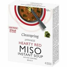 Clearspring  Instant Miso Soup - Red Sea Vegetable - (10g x 4) - 30041