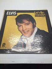ELVIS PRESLEY - Lets Be Friends- 1970 Vinyl LP - RCA Camden CAS2408 PICWICK