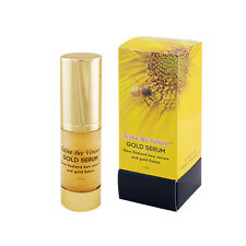 Bee Venom Anti-Aging Face Serum with 24K Gold Flakes, Aloe Vera, Lavender Oil