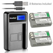 Kastar EN-EL3 Battery& LCD Slim USB Charger for Nikon D70 D70s D80 D90 D100 D200