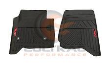 2014-2019 GMC Sierra Genuine GM Front All Weather Floor Mats Black 23452764