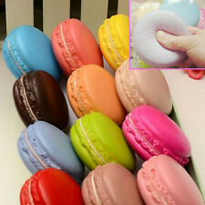 Soft Squishy Macaron Dessert Cake Cute Cell phone Straps Kids Toys Gift Charms