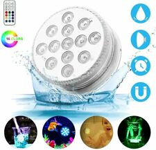 Luce a 13 LED colorati impermeabile per piscina Lampada decorativa + telecomando