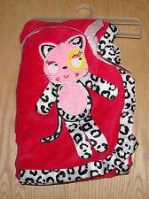 Nuby pink leopard cat blanket  NWT