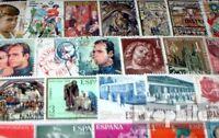 Spanien 100 verschiedene Sondermarken