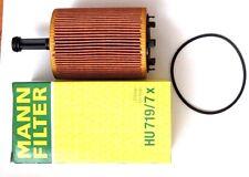 MANN Ölfilter Filtereinsatz HU719/7x für Audi A4, VW Golf & Passat, Skoda, Ford