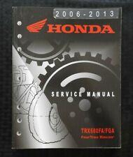 2006-2013 HONDA 680 TRX680FA TRX680FGA FOURTRAX RINCON ATV SERVICE MANUAL NICE
