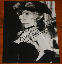 BRIGITTE BARDOT ~ AUTHENTIC BEAUTIFUL HAND SIGNED 10 x 8 AUTOGRAPH PHOTOGRAPH 9
