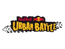Red Bull Urban Battle Car Motorbike Decal Sticker x2 BIG (pair) 230x67mm