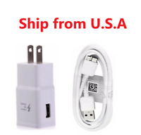 Wall Fast Charger + USB 3.0 Data Sync Charging Cable For Samsung Galaxy S5 Note3