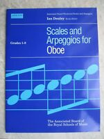 Scales and Arpeggios for Oboe Grades 1-8 *NEW* Publisher ABRSM