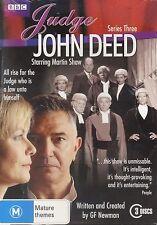 Judge John Deed Series Three 3 Third DVD NEW Martin Shaw