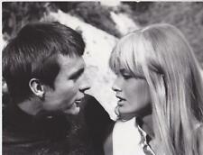 """Marisa Mell and John Philip Law in """"Danger: Diabolik"""" 1968 Vintage Movie Still"""